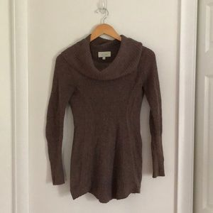 Brown Anthropologie Sweater